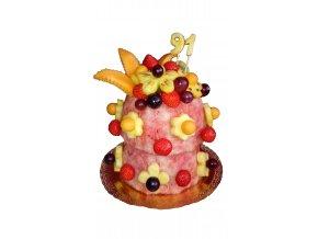 ovocná torta 2 poschodová
